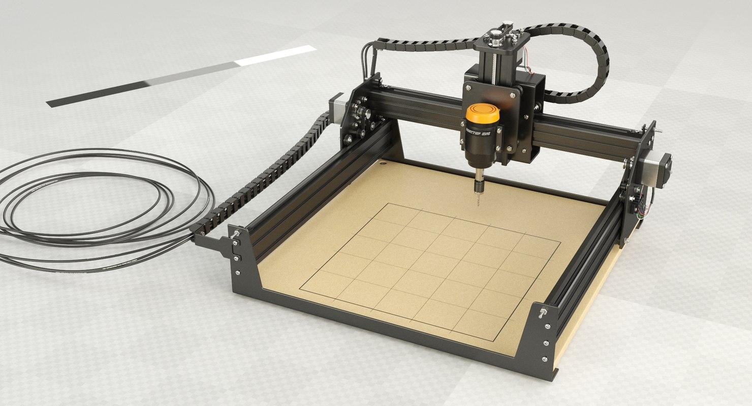 3D desktop cnc machine
