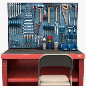 3D model tools panel