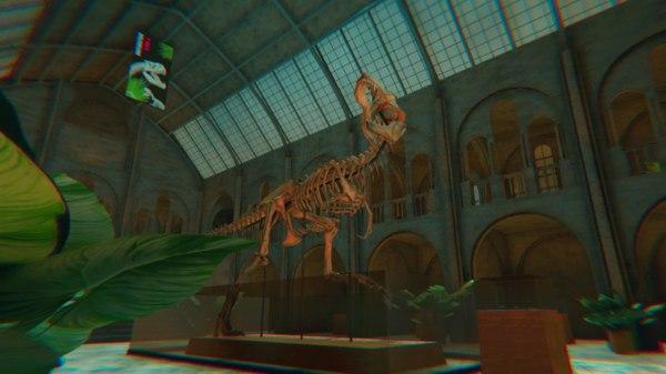 museum vr interior - 3D model