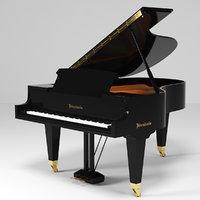 3D bosendorfer grand piano