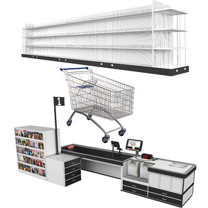 3D grocery store 2
