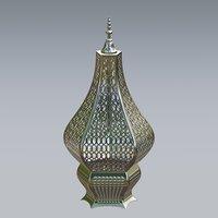 3D lantern metal