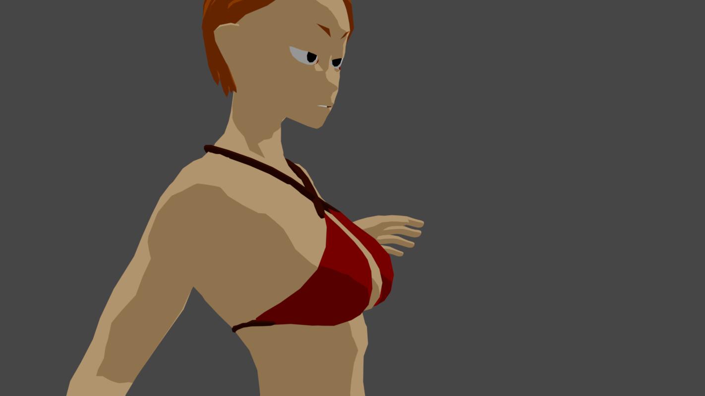 character girl 3D