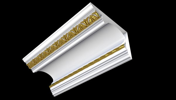 3D patterned cornices model