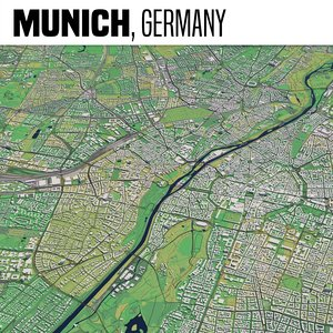 munich germany 3D model
