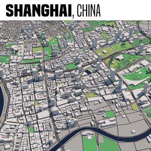 city shanghai 3D