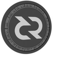 3D decred coin model