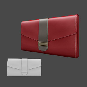 3ds handbag clutch bag