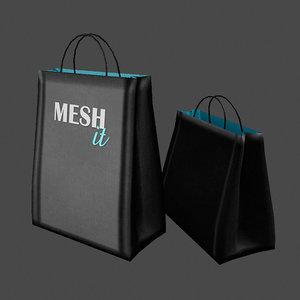 shop bag 3d model