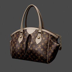3d model handbag bag
