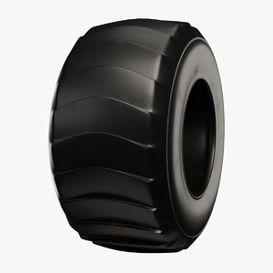 tractor tire 3D