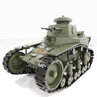 3D t-18 light tank