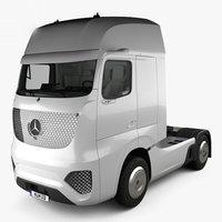 3D mercedes-benz future 2025 model