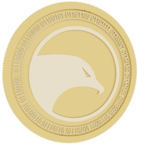 3D insight gold coin
