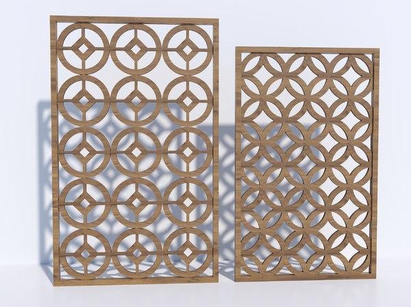 panel ornament 3D model