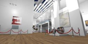 3D gallery - model