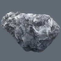 asteroid meteor rock 3D model