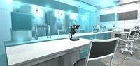 vr modern laboratory - 3D