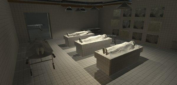 3D model - interior
