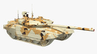 t-90 ms desert dirt model