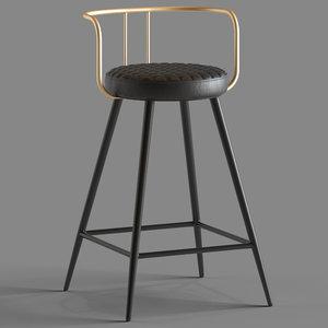 3D cult furniture union bar stool