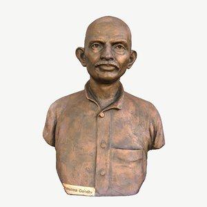 sculpture india busts 3D model
