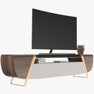 3D smart tv cabinet