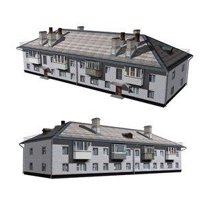 architecture house structure 3D model