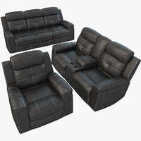3D cushioned furniture ashley jesolo model