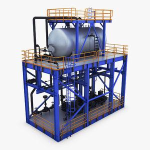 3D industrial installation 1
