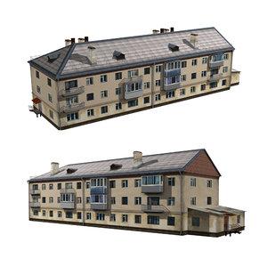 architecture house structure 3D
