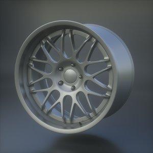 hre c100 3D model