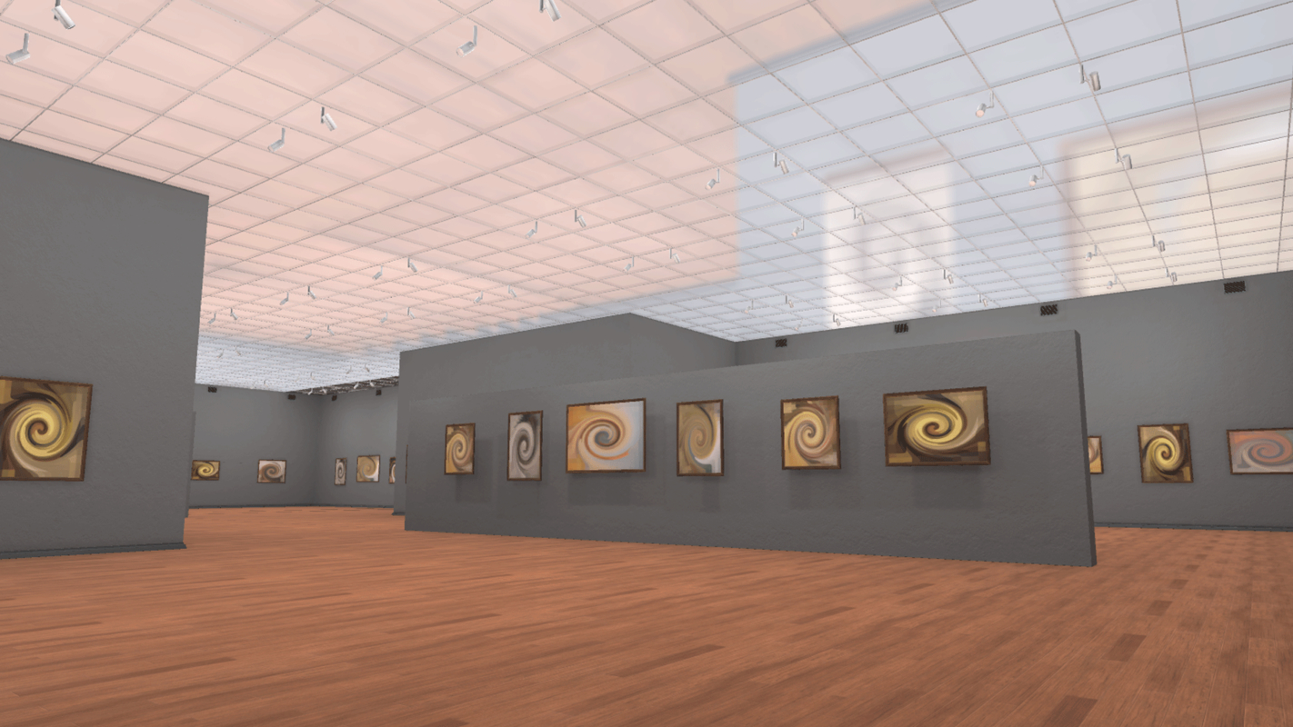 vr pictures - gallery model