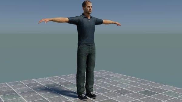 paul walker model