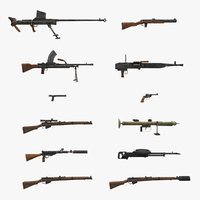 World War II British Guns Collection