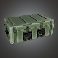Military Supplies Container 05 - MLT - PBR Game Ready