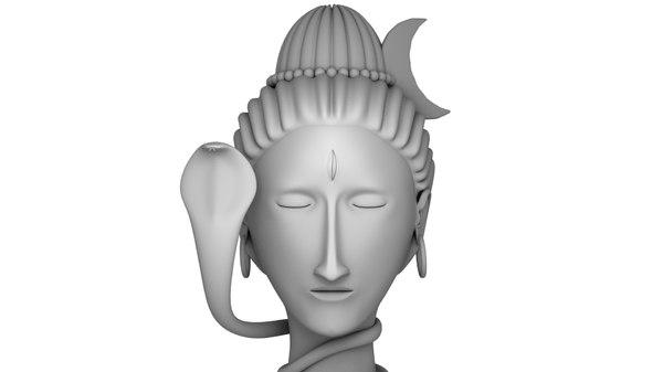 head shiva 3D model