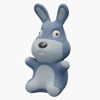 rabbit toy 3D model