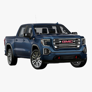 3D 2019 gmc sierra at4 model