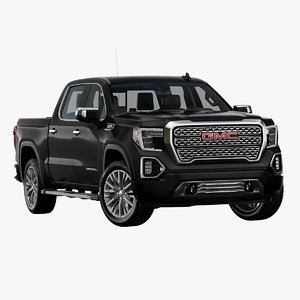3D model 2019 gmc sierra denali
