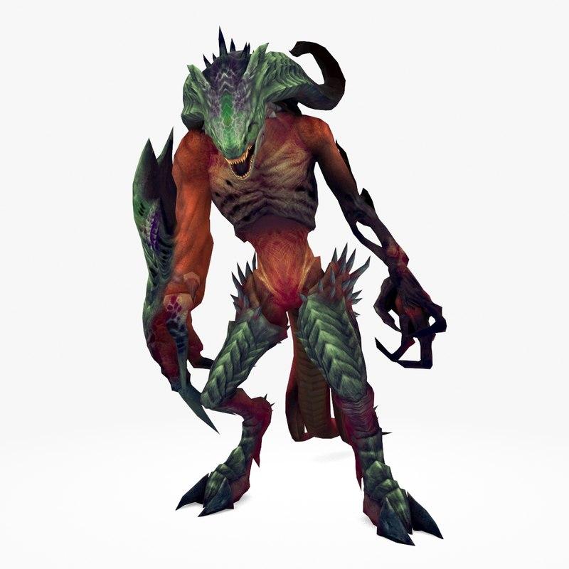 monster type model