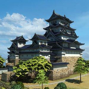 japanese castle model