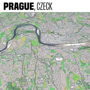 city prague 3D