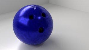 bowling ball 9 p 3D model