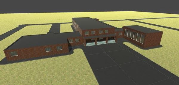 3D school - pack model