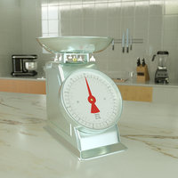 kitchen scale model