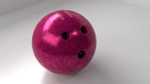 bowling ball 11 p 3D model