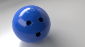 3D bowling ball 13 p