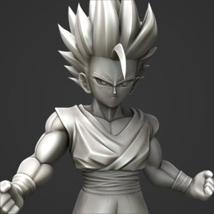 dragon ball gohan 3D model