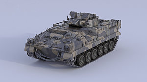 3D warrior mcv-80 infantry